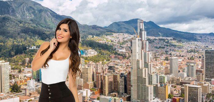 Frauen in Bogota treffen