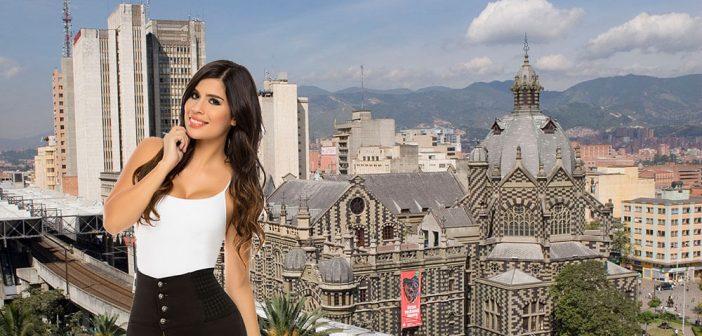 Frauen in Medellin treffen